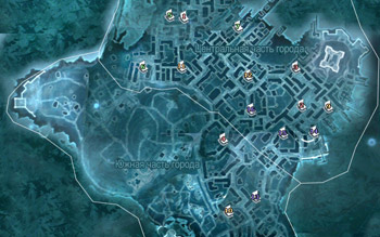Местоположение страниц альманахов в Бостоне в Assassin's Creed 3
