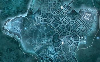 Карта с магазинами торговцев в Бостоне в Assassin's Creed 3