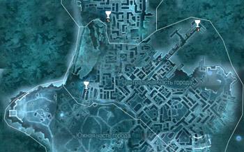 Карта побрякушек в Бостоне в Assassin's Creed 3