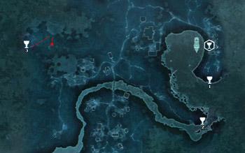 Карта побрякушек в поместье Дэвенпорт в Assassin's Creed 3