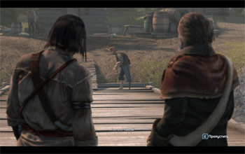 Одноногий в ожидании побрякушек в Assassin's Creed 3