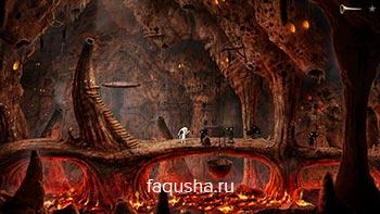 Прохождение головоломки с чертями в аду в Samorost 3