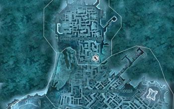 Карта с местоположением бостонских бойцов и бойцовского клуба в Assassin's Creed 3