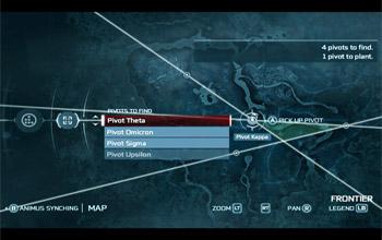 Поиск точек и синхронизация с Анимусом в Эпилоге в Assassin's Creed 3