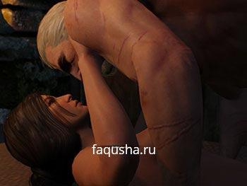 Романтические отношения, роман и секс с Юттой в The Witcher 3: Дикая Охота