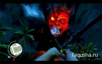 Сражение с чернильным чудовищем в храме Цитры в Far Cry 3