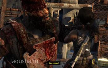 Битва с громилой Борисом на палубе корабля «Эндьюранс» в Tomb Raider