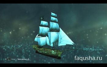 Макет «Галки» из базы данных Анимуса в Assassin's Creed 4: Black Flag