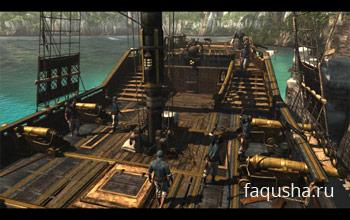 Управление Галкой в Assassin's Creed 4: Black Flag