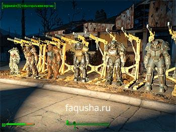 Все виды и модели силовой брони в Fallout 4