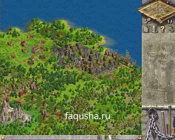 Строительство главной колонии в девятой главе 'Происхождение' в Anno 1503