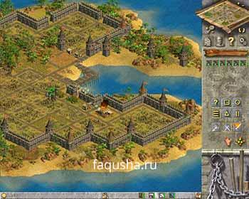 Нападение на Остров усопших в девятой главе 'Происхождение' в Anno 1503