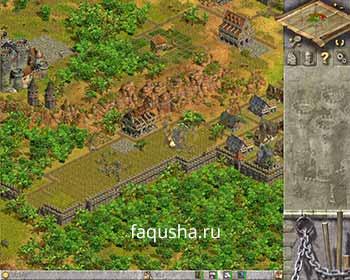 Уничтожение рынка для захвата крепости в восьмой главе 'Сопротивление' в Anno 1503
