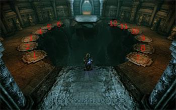 Прохождение Испытания с мостом в храме Андрасте в Dragon Age: Origins