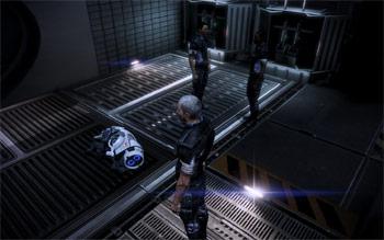 Уставший робопес KEI-9 в Mass Effect 3