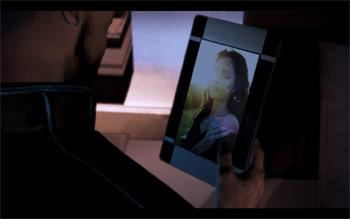 Фотография Тали без костюма и маски в Mass Effect 3