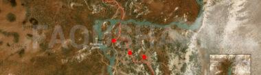 Карта задания 'Дабы вилохвоста приманить' в 'Ведьмаке 3'