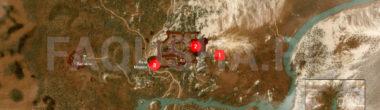 Карта задания 'Уродец' в 'Ведьмаке 3'